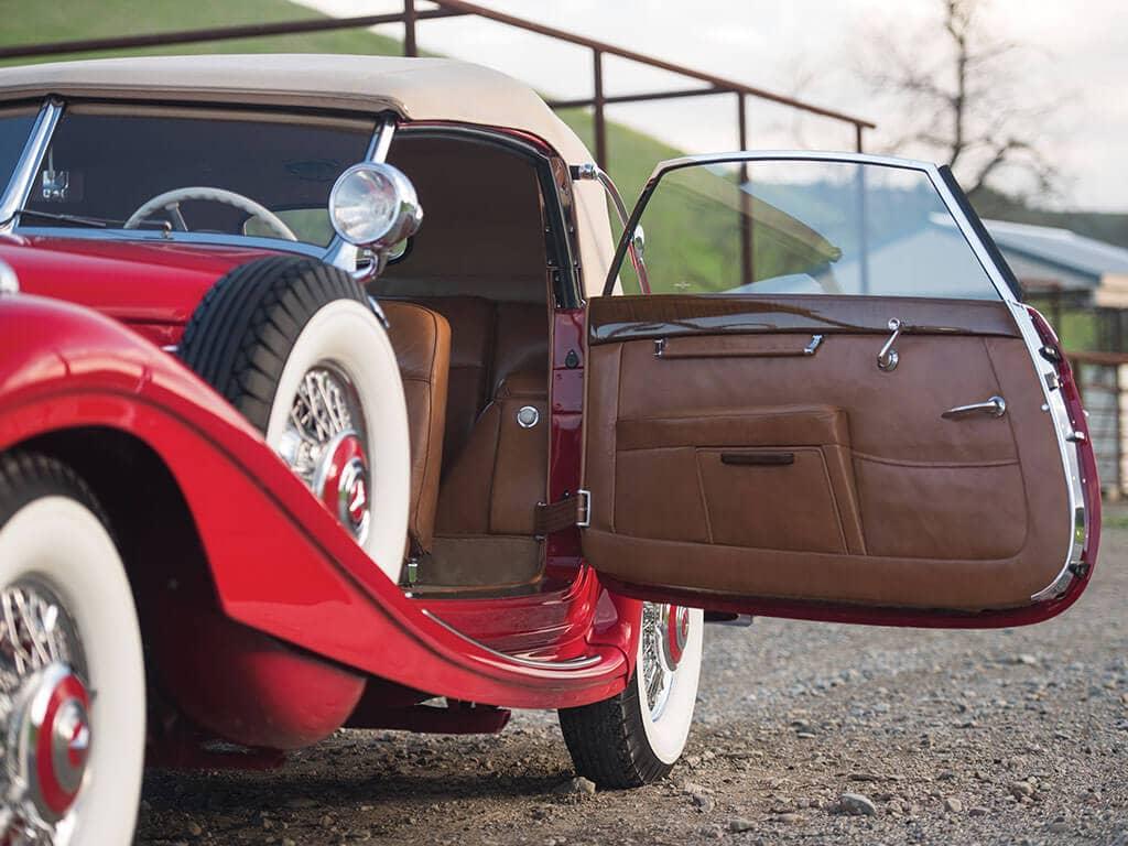 1939 Mercedes-Benz 540 K Spezial Cabriolet A, Door