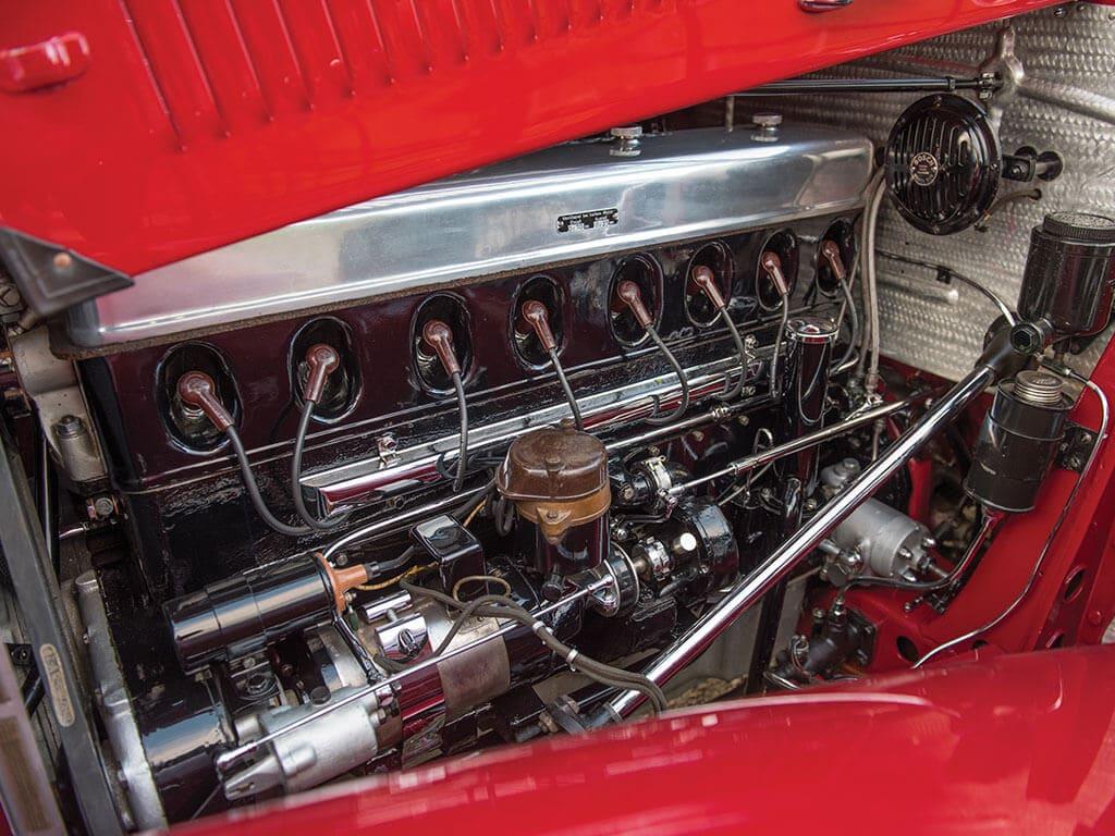 1939 Mercedes-Benz 540 K Spezial Cabriolet A, Engine