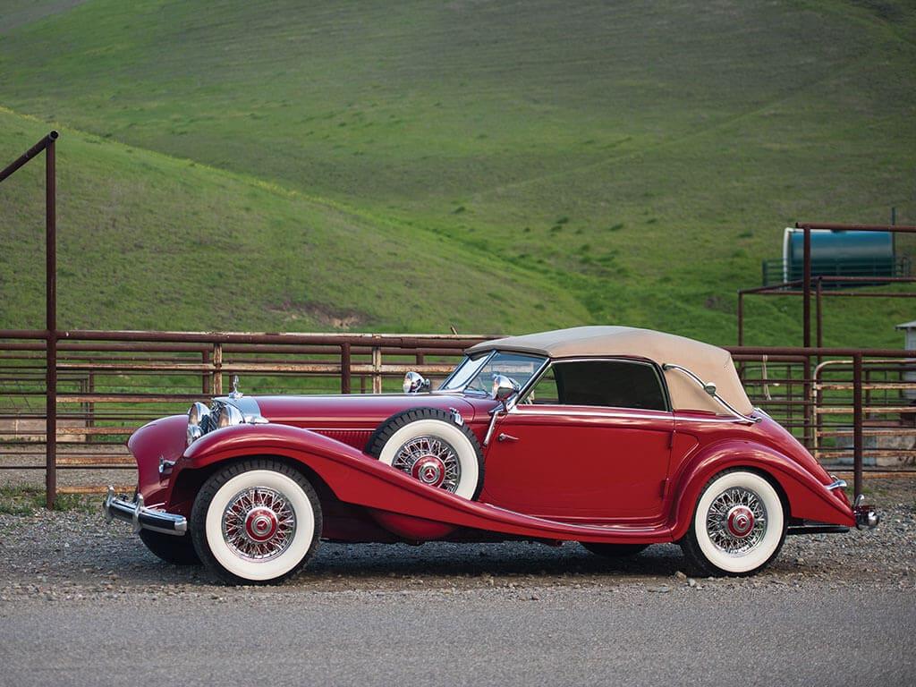 1939 Mercedes-Benz 540 K Spezial Cabriolet A Side View