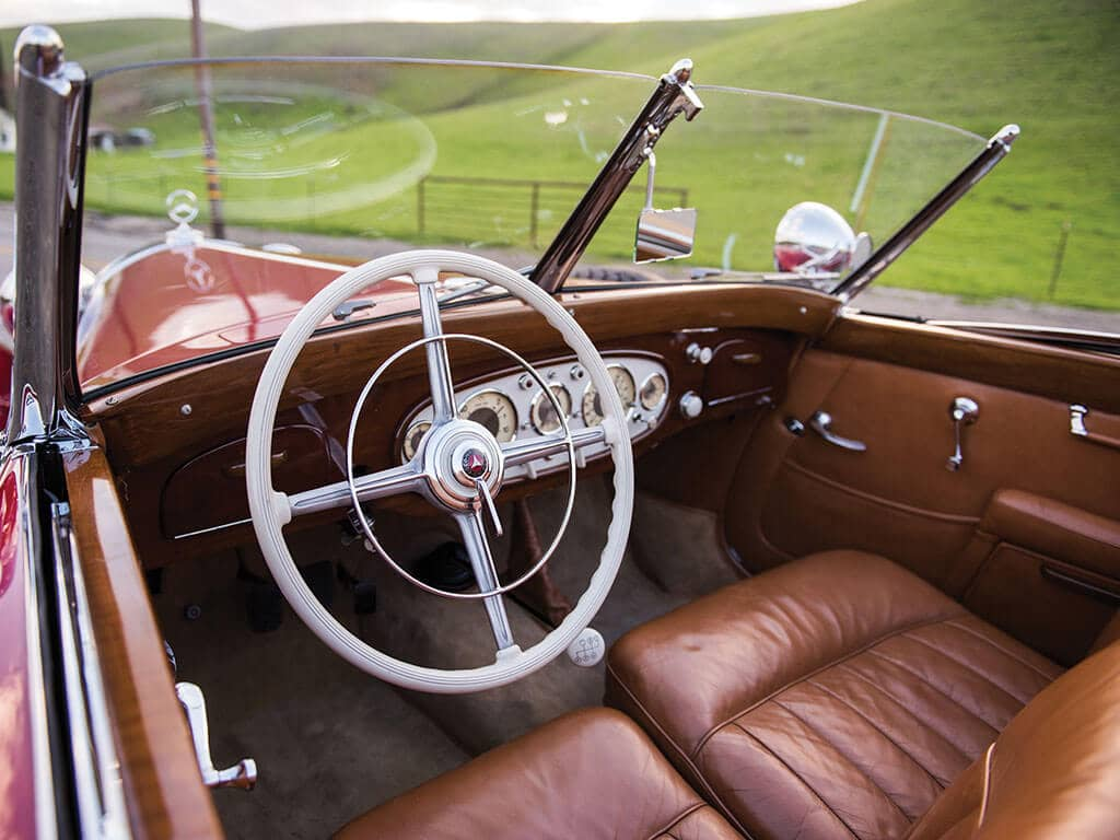 1939 Mercedes-Benz 540 K Spezial Cabriolet A, Steering Wheel