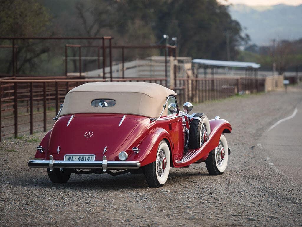 1939 Mercedes-Benz 540 K Spezial Cabriolet A