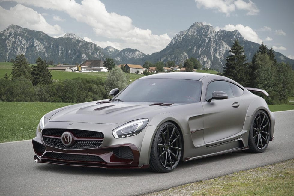 2016 Mercedes AMG GT S by Mansory