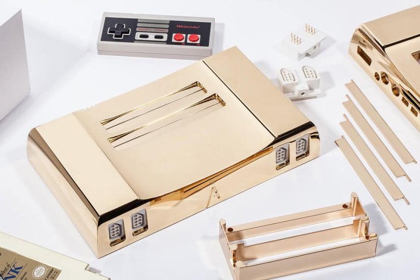 24K Gold Nintendo Entertainment System