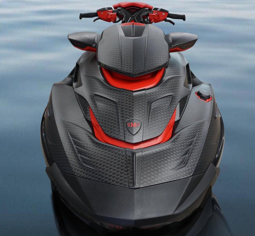 550-Horsepower Black Marlin Luxury Jet Ski by Mansory
