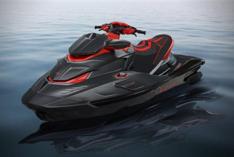 550-Horsepower Mansory Black Marlin Luxury Jet Ski