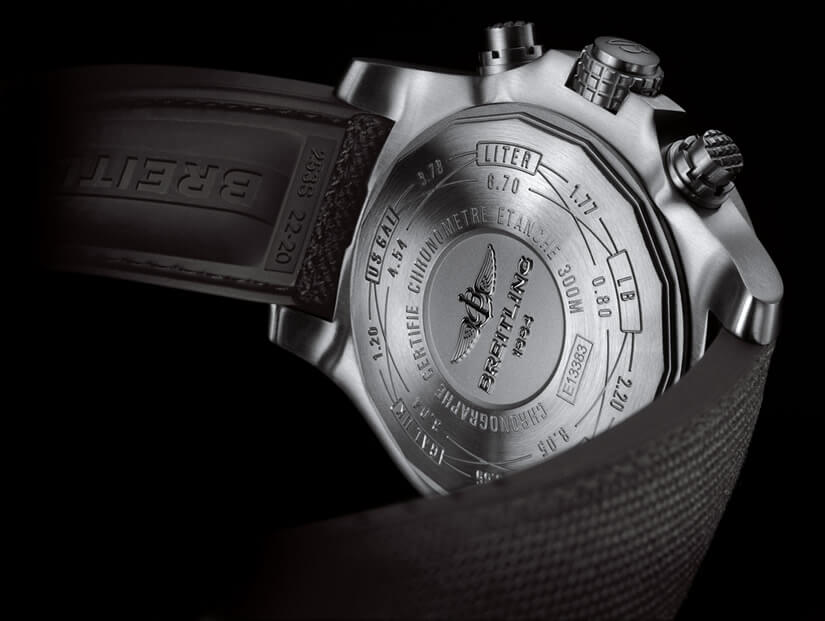 Avenger Bandit Watch by Breitling, Case