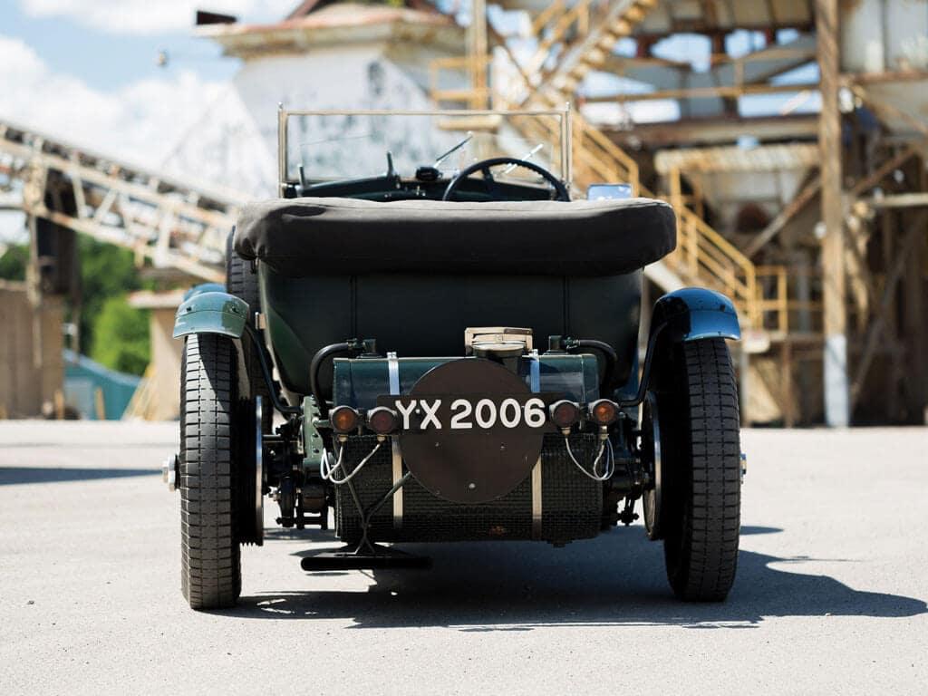Back View, 1928 Bentley 4 ½ -Liter Tourer