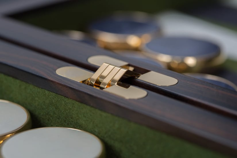Backgammon Set by Lieb Manufacktur