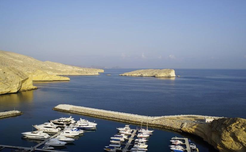Barr Al Jissa Resort, Private Marina