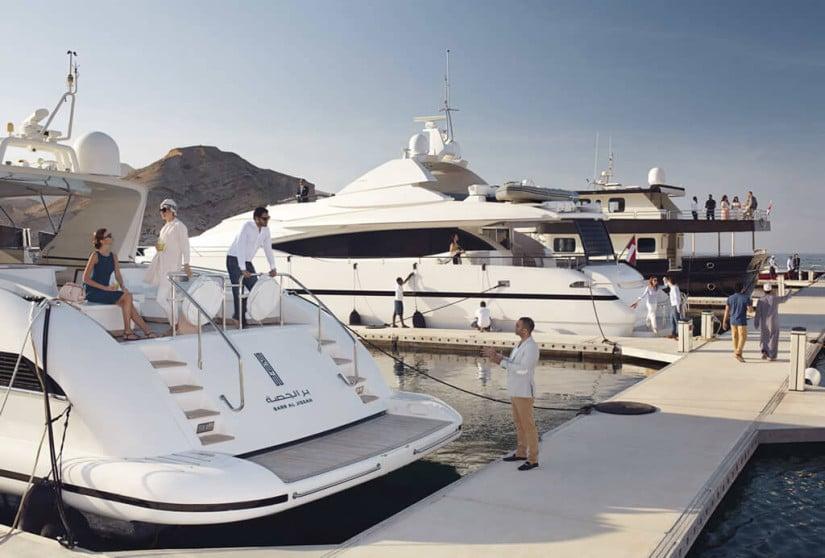 Barr Al Jissa private marina