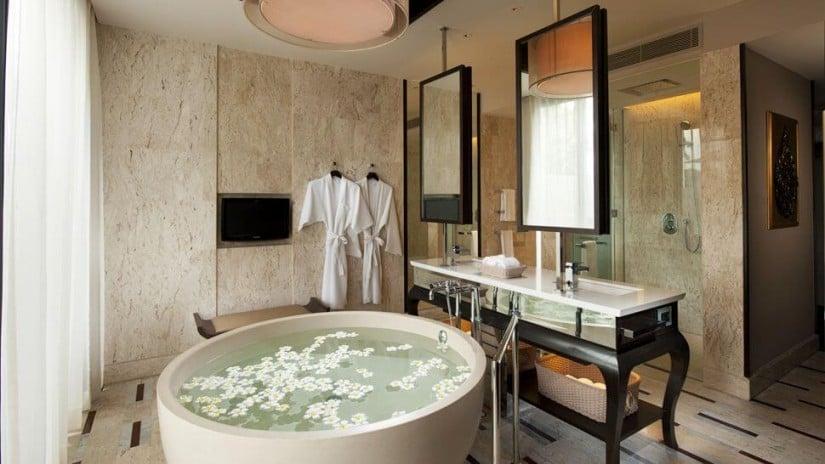 Bath, Conrad Koh Samui Resort and Spa