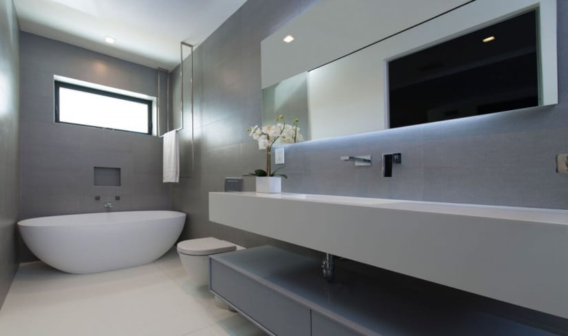 Bath, Hollywood Hills Residence