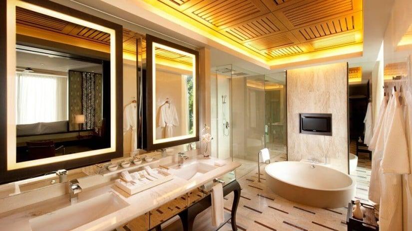 Bathroom, Conrad Koh Samui Resort and Spa, Thailand