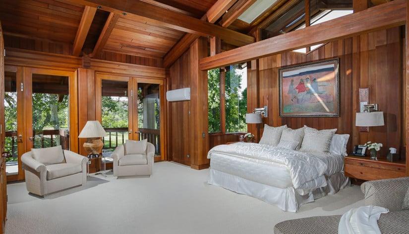 Bedroom, Del Dios Ranch Estate in California