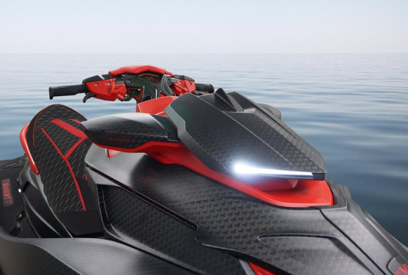 Black Marlin Luxury Jet Ski by Mansory