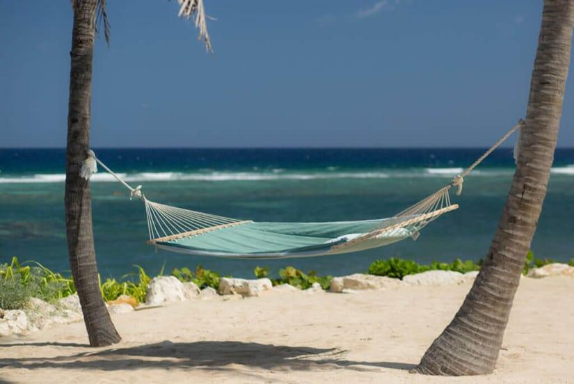 Camden House in the Cayman Islands, Beach