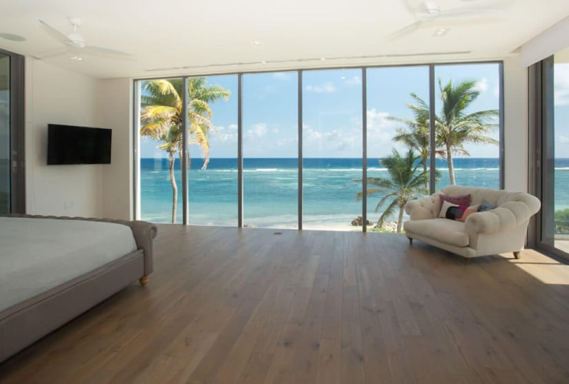 Camden House in the Cayman Islands, Bedroom View