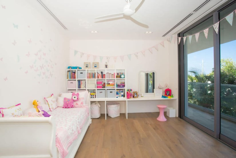 Camden House in the Cayman Islands, Kids Room