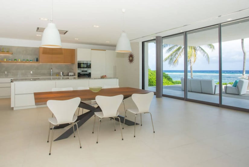 Camden House in the Cayman Islands, Kitchen