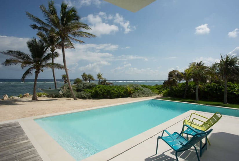 Camden House in the Cayman Islands, Pool