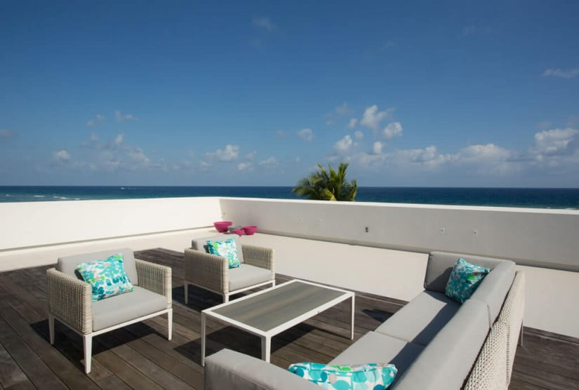 Camden House in the Cayman Islands, Terrace