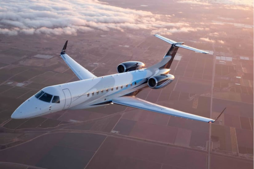 Charter an Embraer Legacy 650 Jet