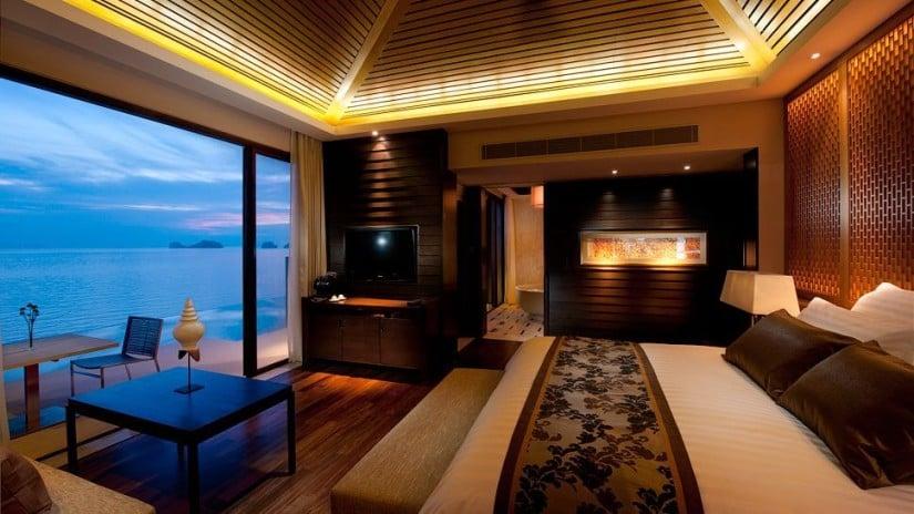 Conrad Koh Samui Resort and Spa, Bedroom
