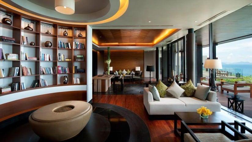 Conrad Koh Samui Resort and Spa, Lounge Area