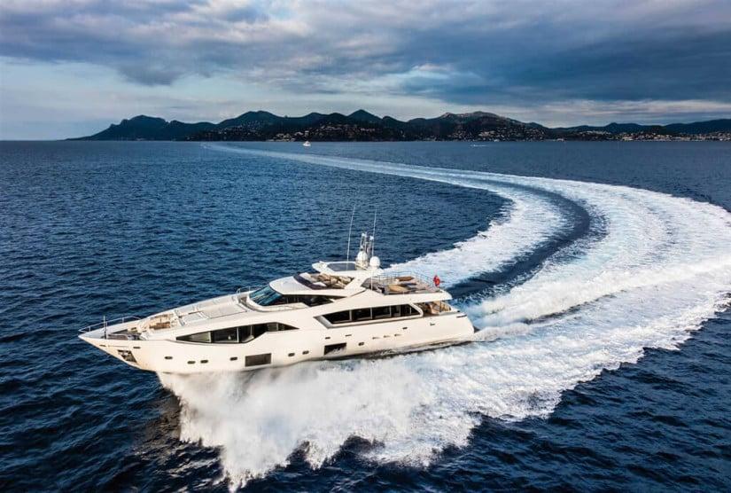 Custom Line 108 Luxury Yacht