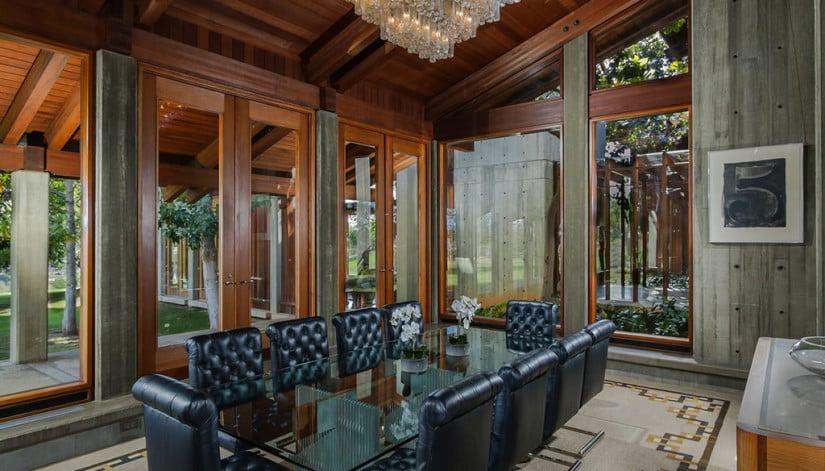 Del Dios Ranch Estate in California, Dining Room