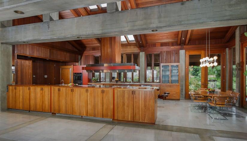 Del Dios Ranch Estate in California, Kitchen