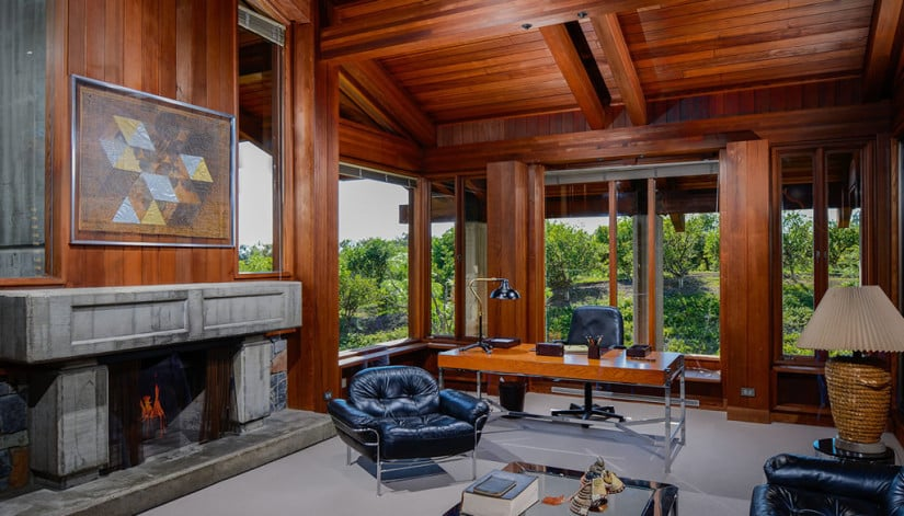 Del Dios Ranch Estate in California, Office
