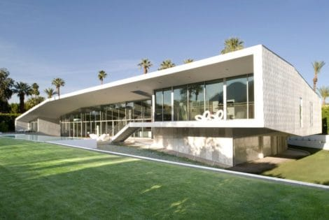 Desert Canopy House by Sander Architects
