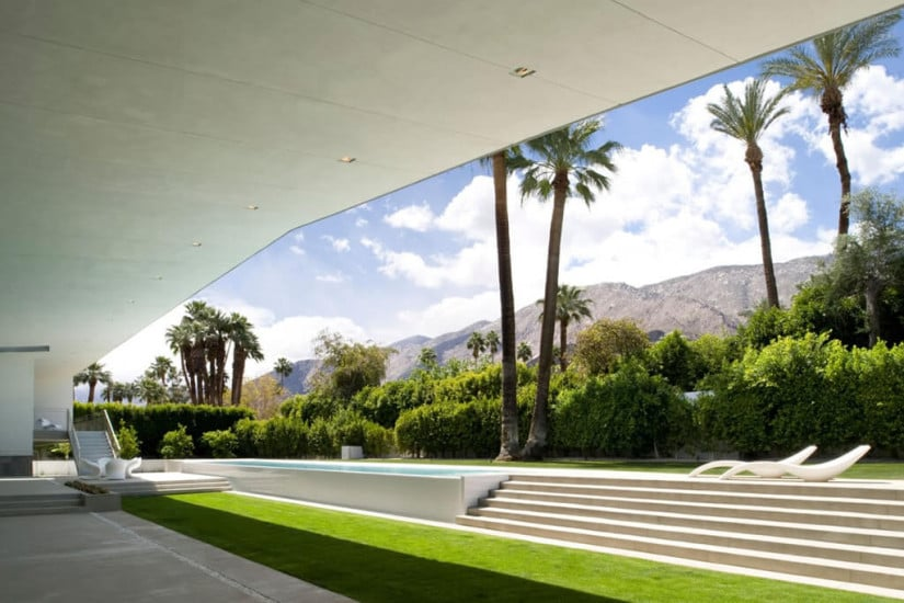 Desert Canopy House by Sander Architects, Garden