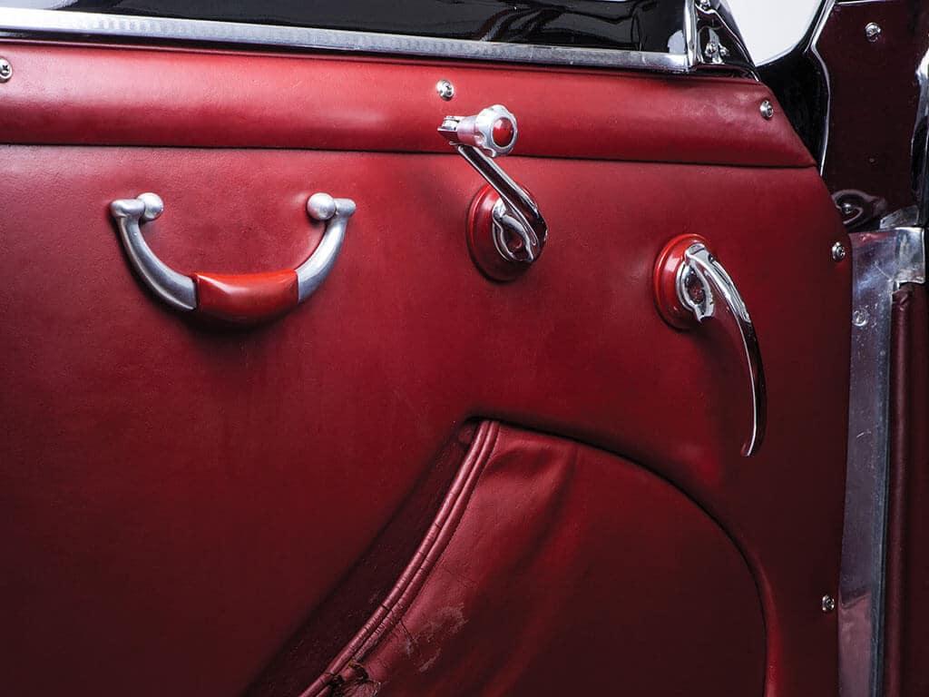 Door, Rare 1952 Ferrari 212 Inter Cabriolet by Vignale