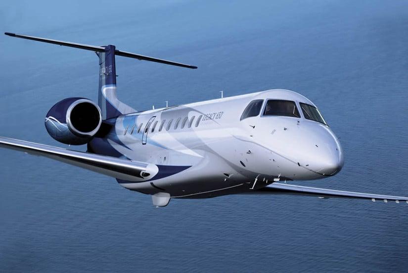 Embraer Legacy 650 Jet