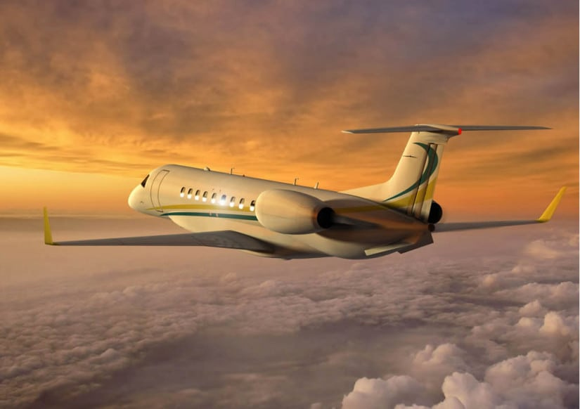 Embraer Legacy 650 Luxury Jet
