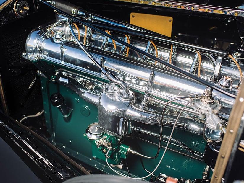 Engine, 1931 Stutz DV-32 Convertible Victoria by Rollston