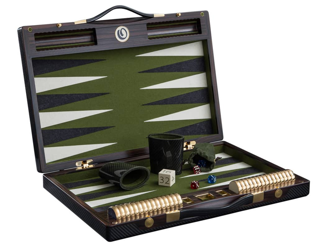 Exclusive Backgammon Set by Lieb Manufacktur