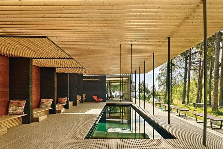 Forest Sauna House In Sweden Men S Gear