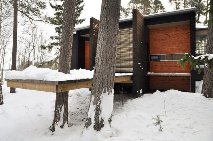 Forest Sauna House in Sweden 9