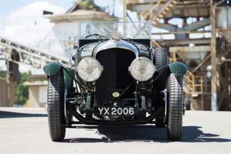 Front View, 1928 Bentley 4 ½ -Liter Tourer