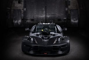 Front View, 2016 KTM X-Bow GT Black Edition