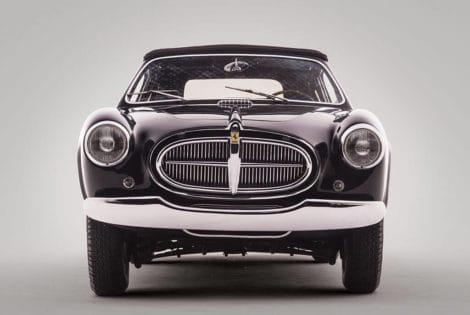 Front View, Rare 1952 Ferrari 212 Inter Cabriolet by Vignale