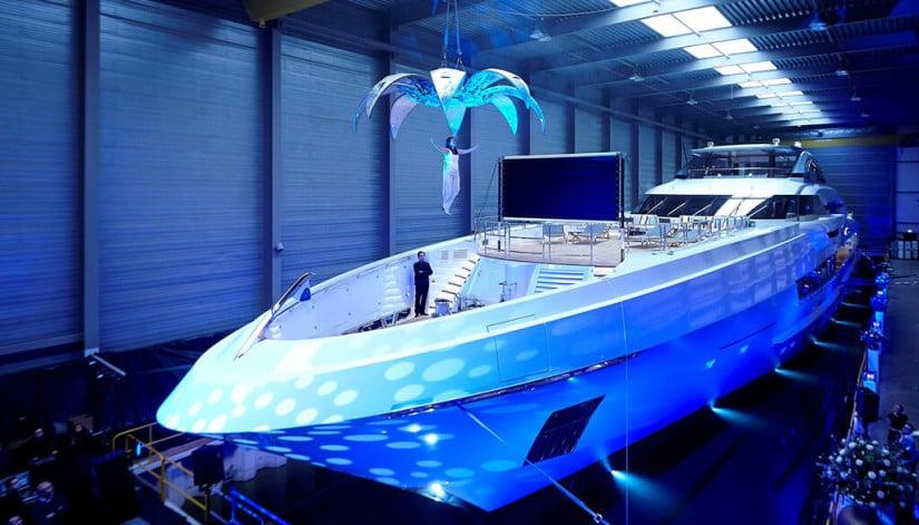 Galactica Super Nova, Henseen Yet Largest Yacht