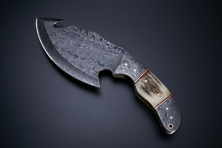 Hand-Forged Damascus Knives By Jackson Blades 4