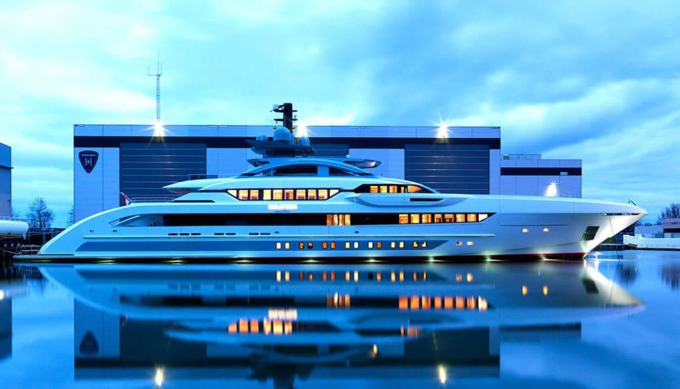 Heesen's Galactica Super Nova Yacht