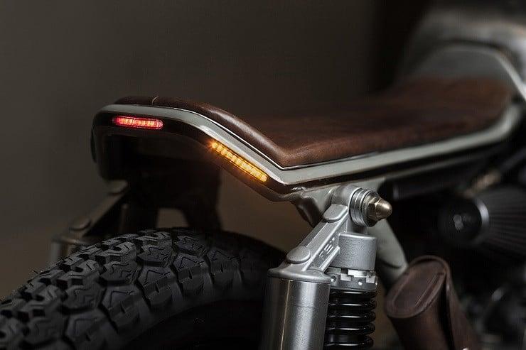 Honda CB450 K5 Cafe Racer by Vagabund Moto 8