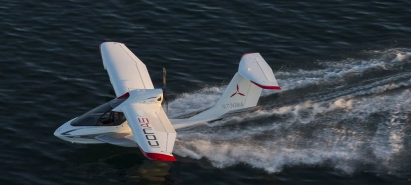 ICON A5 Personal Convertible Seaplane