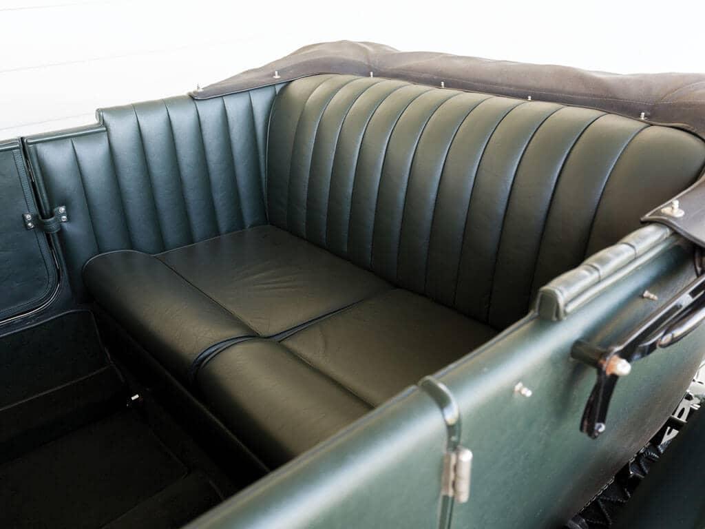 Interior, 1928 Bentley 4 ½ -Liter Tourer